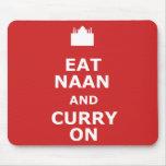 Curry divertido tapete de raton