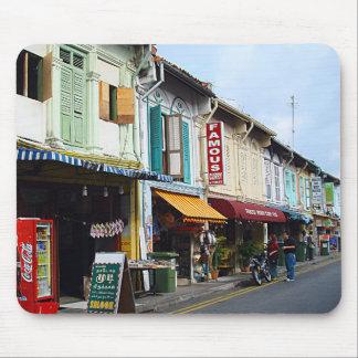 Curry famoso, la poca India, Singapur Alfombrillas De Ratones