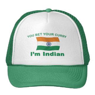 Curry indio gorro de camionero
