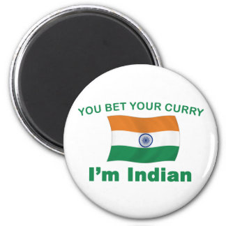 Curry indio iman de frigorífico