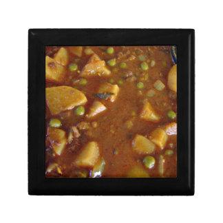 Curry mezclado picante de las verduras cajas de recuerdo