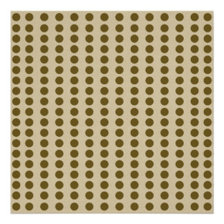 Curry Spice Moods Dots Poster