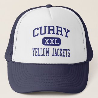 Curry Yellow Jackets Middle Jasper Alabama Trucker Hat