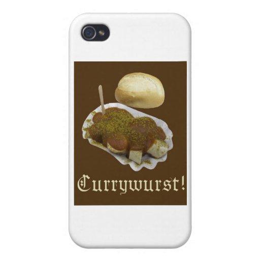 Currywurst iPhone 4 Coberturas