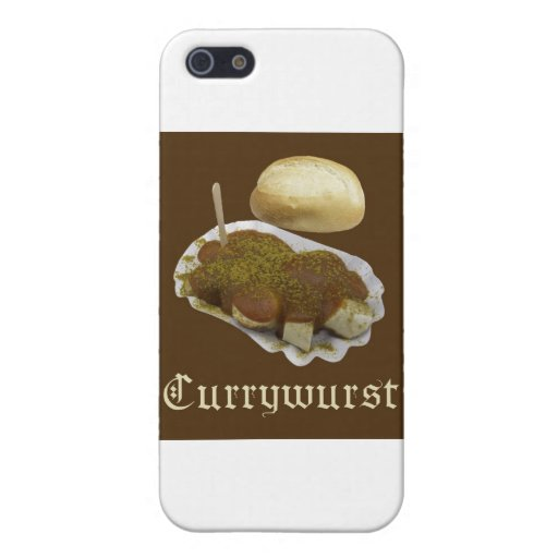 Currywurst iPhone 5 Cases