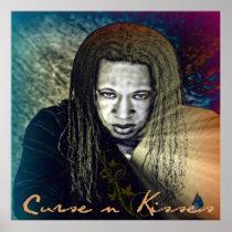 Curse & Kisses Colorful Poster