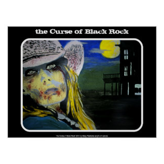 Curse of Black Rock Western Zomb Poster