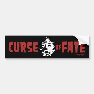 Curse of Fate B-Movie Bumper Sticker