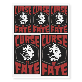 'Curse of Fate' Creature Movie Temporary Tattoos