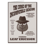 Curse Of The Incompatible GEDCOM Greeting Card