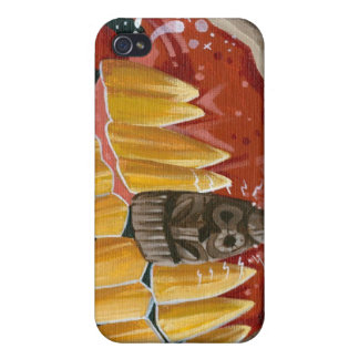 """Curse of the Tiki Tooth"" iPhone 4 Cover"