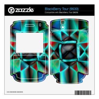 Cursed Flower BlackBerry Tour Decals