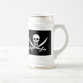Cursed Pirate (skull & swords) Beer Stein