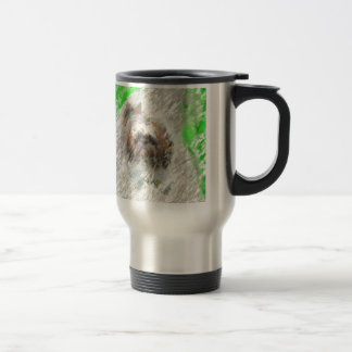 cursing the rain travel mug