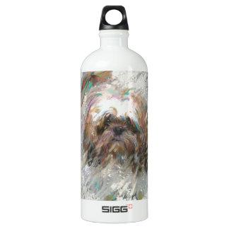 cursing the rain water bottle