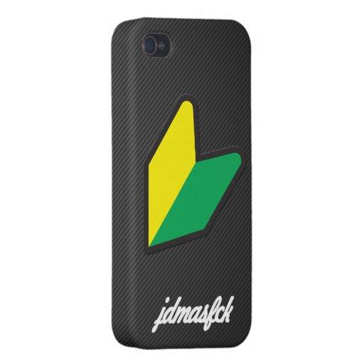 cursive del jdmasfck iPhone 4/4S carcasa