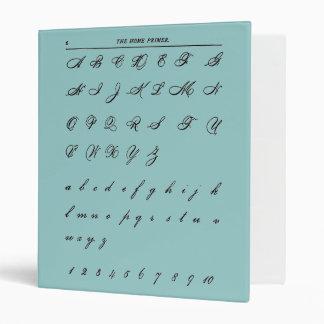 Cursive Letters Binder