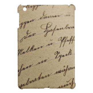 Cursive Writing iPad Mini Covers