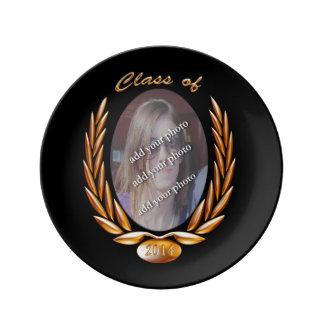 Curso de graduación (del personalizar) de bastidor platos de cerámica