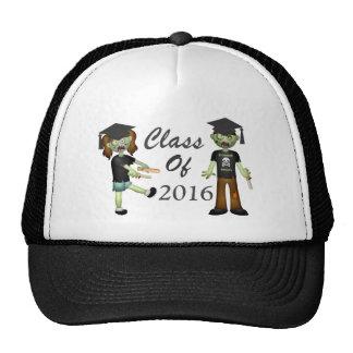 Curso de graduación del zombi de 20xx gorras