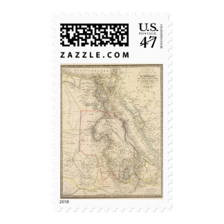 Curso del Nilo Sellos Postales