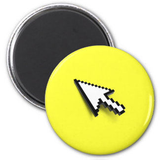 Cursor 3D 2 Inch Round Magnet