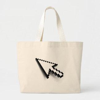 Cursor 3D Tote Bags