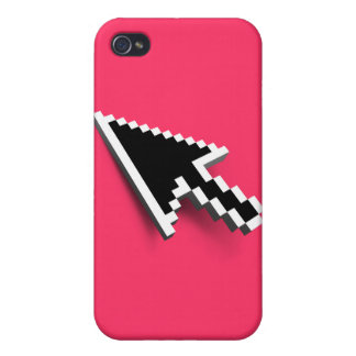 Cursor 3D (inverted) iPhone 4/4S Cases