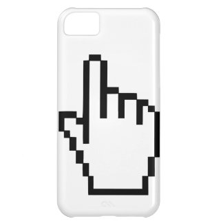 Cursor Click Hand Case For iPhone 5C