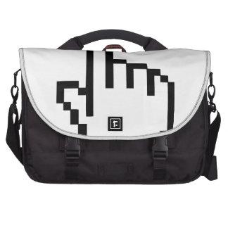 Cursor Click Hand Laptop Commuter Bag