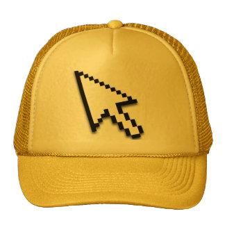 Cursor Flat Mesh Hats