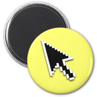 Cursor Flat (inverted) 2 Inch Round Magnet