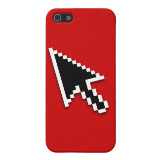 Cursor Flat (inverted) iPhone 5 Covers