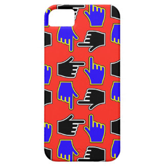 Cursor Hands Red iPhone 5 Case