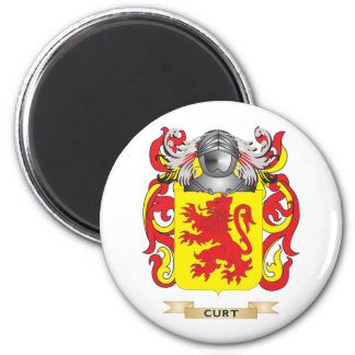 Curt Coat of Arms 2 Inch Round Magnet