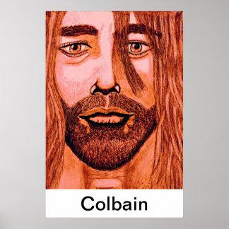 Curt Colbain poster