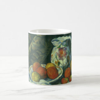 Curtain and Flowered Pitcher by Paul Cezanne Coffee Mug