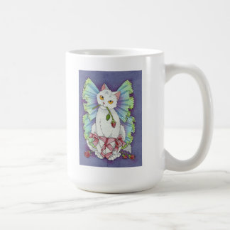 Curtain Call - ballerina fairy kitty cat mug