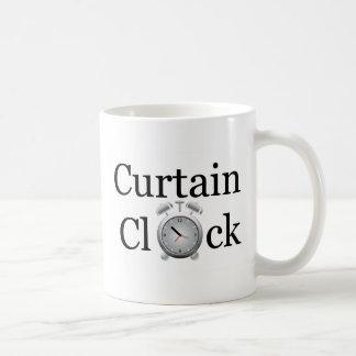Curtain Clock Items Coffee Mug