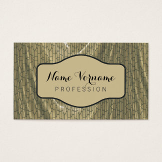 curtain material business card