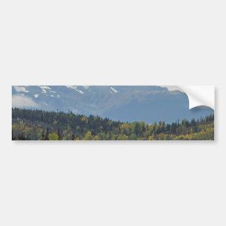 Curtain Of Clouds Bumper Sticker