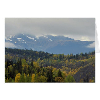 Curtain Of Clouds Greeting Card