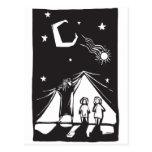Curtain of Night #2 Postcard
