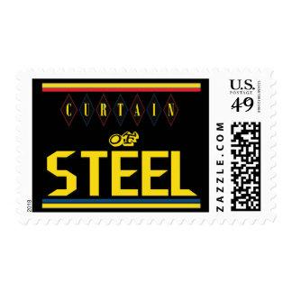 Curtain of Steel Black Stamp