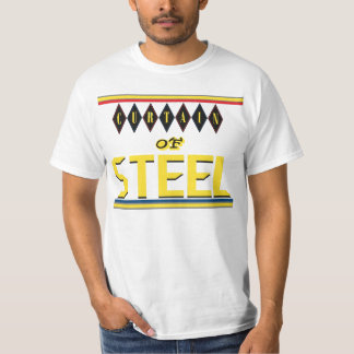 Curtain of Steel: Five Rings (white) T-Shirt