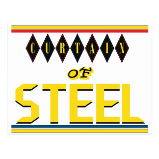 Curtain of Steel Postcard