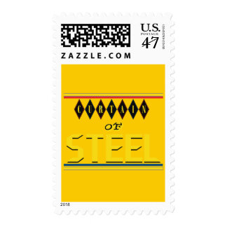 Curtain of Steel Yellow Stamp