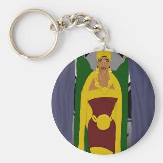 Curtain Pose Keychain