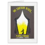 Curtain Rises Theatre 1942 WPA