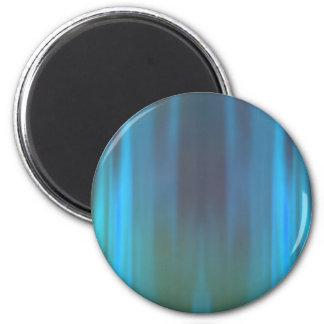 Curtains of Light: Abstract Artwork: 2 Inch Round Magnet